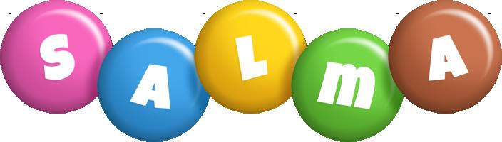 Salma candy logo
