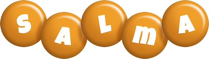 Salma candy-orange logo