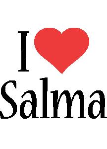 Salma i-love logo