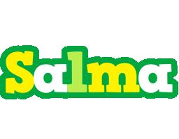 Salma soccer logo