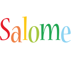 Salome birthday logo