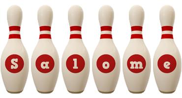 Salome bowling-pin logo