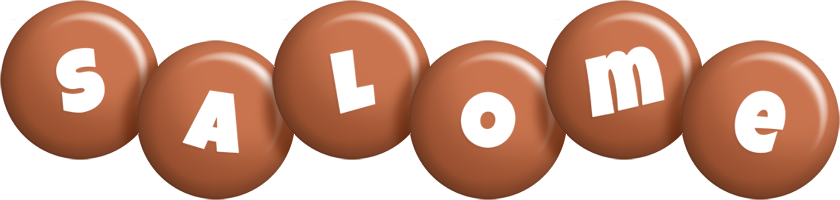 Salome candy-brown logo