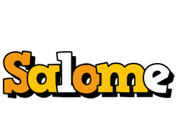 Salome cartoon logo