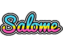 Salome circus logo