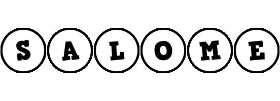 Salome handy logo