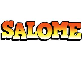 Salome sunset logo