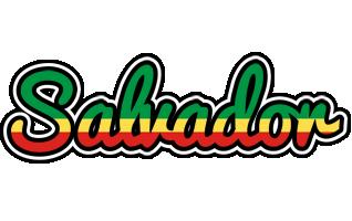 Salvador african logo