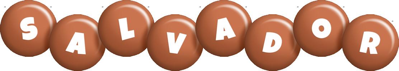 Salvador candy-brown logo