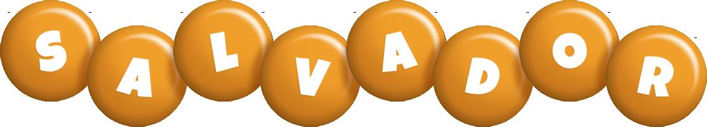 Salvador candy-orange logo