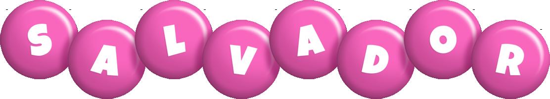 Salvador candy-pink logo
