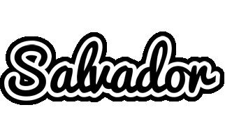 Salvador chess logo