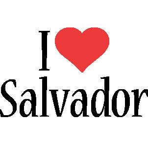 Salvador i-love logo
