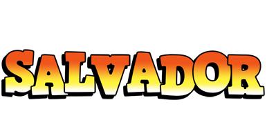 Salvador sunset logo