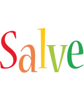 Salve birthday logo