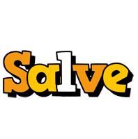 Salve cartoon logo