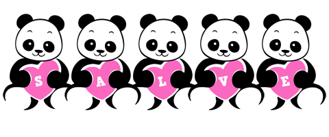 Salve love-panda logo