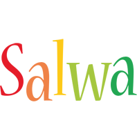 Salwa birthday logo
