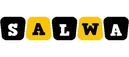 Salwa boots logo