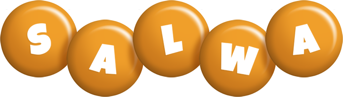 Salwa candy-orange logo