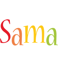 Sama birthday logo
