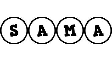 Sama handy logo