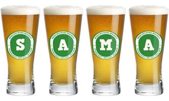 Sama lager logo