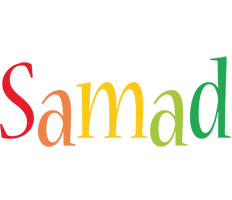 Samad birthday logo