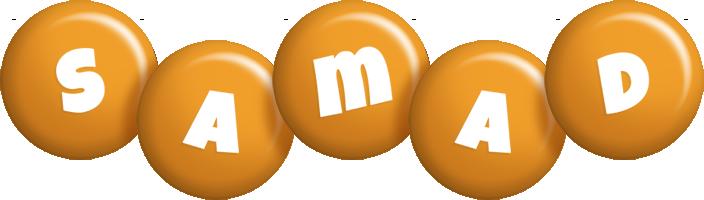 Samad candy-orange logo