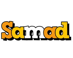 Samad cartoon logo