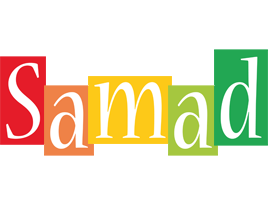 Samad colors logo