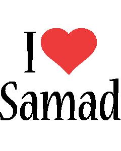 Samad i-love logo