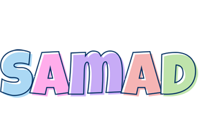 Samad pastel logo