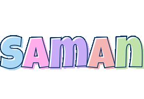 Saman pastel logo