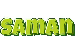 Saman summer logo