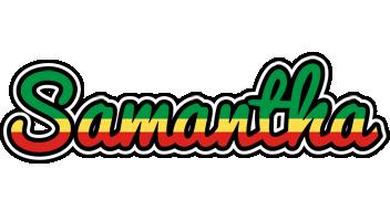 Samantha african logo