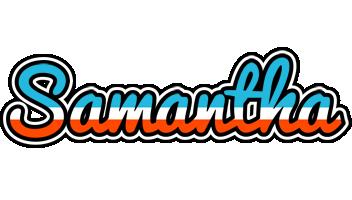 Samantha america logo
