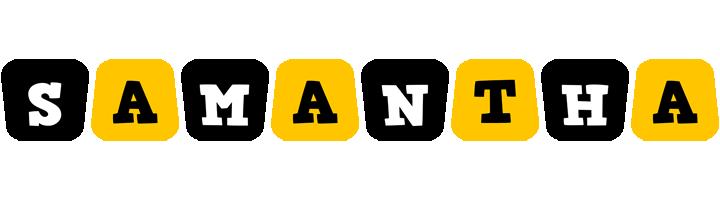 Samantha boots logo