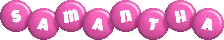 Samantha candy-pink logo