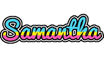 Samantha circus logo