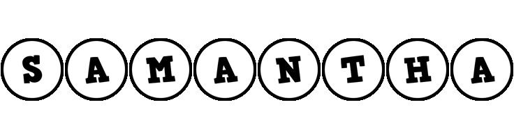 Samantha handy logo