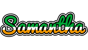 Samantha ireland logo