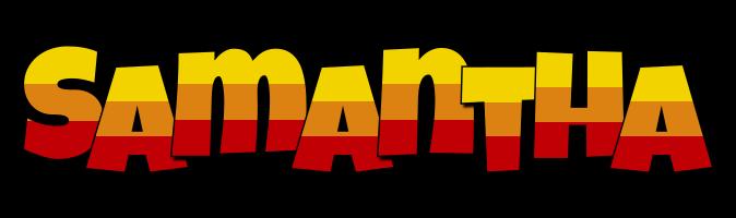 Samantha jungle logo