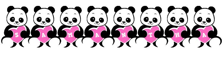 Samantha love-panda logo