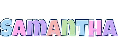 Samantha pastel logo