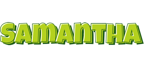 Samantha summer logo