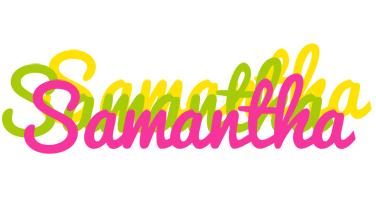 Samantha sweets logo