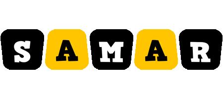 Samar boots logo