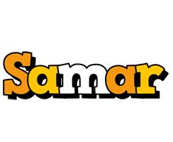 Samar cartoon logo