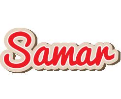 Samar chocolate logo